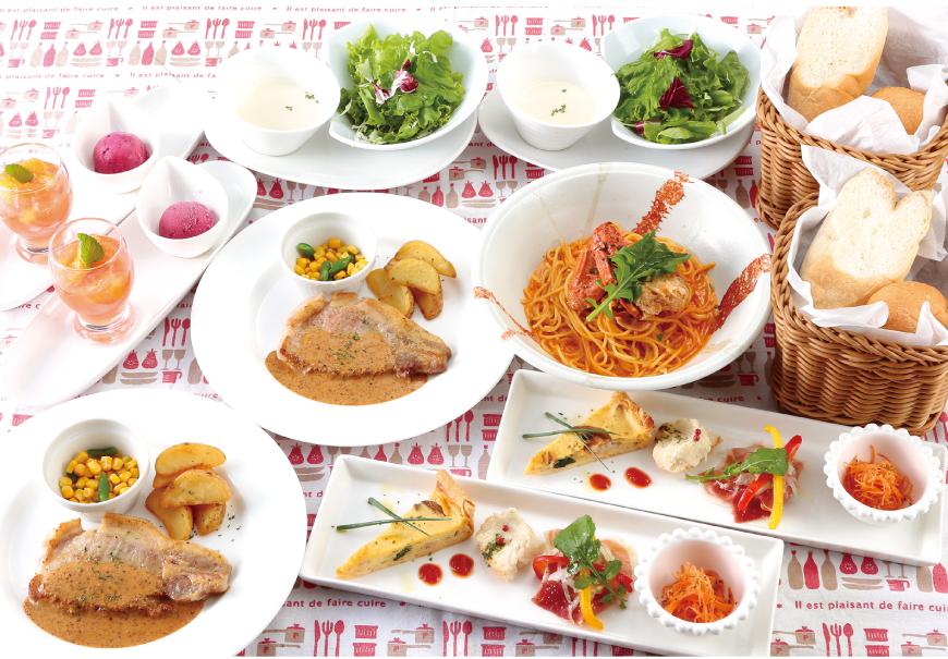 本日のメイン料理パーティーコース 3,000<span>円(税込3,300円)</span> 〔全11品〕